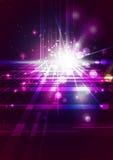 Абстрактные линии с светлой предпосылкой Стоковое Фото