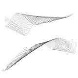абстрактные линии стоковые изображения rf