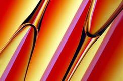 абстрактные каннелюры шампанского Стоковые Фотографии RF