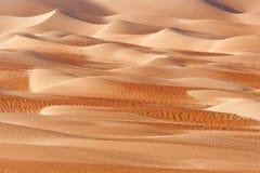 Абстрактные картины дюны в пустом квартале Стоковая Фотография RF