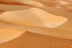Абстрактные картины дюны в пустом квартале Стоковые Изображения