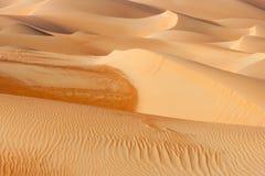 Абстрактные картины дюны в пустом квартале Стоковые Фотографии RF
