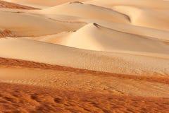 Абстрактные картины дюны в пустом квартале Стоковые Фото