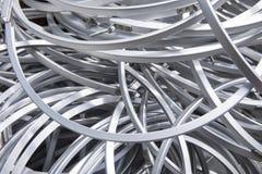 Абстрактные картины кольца металла Стоковые Изображения RF