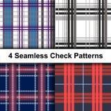 Абстрактные картины шотландки Красивый дизайн цифров бесплатная иллюстрация