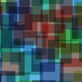 абстрактные квадраты картины иллюстрации digitall Стоковое Фото