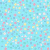абстрактные квадраты картины иллюстрации digitall Стоковые Изображения