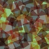 абстрактные квадраты картины иллюстрации digitall Стоковое Изображение