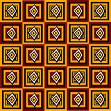 абстрактные квадраты картины иллюстрация вектора