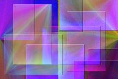 абстрактные квадраты Стоковые Фото