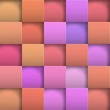 Абстрактные квадраты бумаги предпосылки Стоковая Фотография