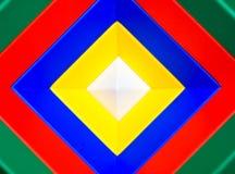 абстрактные квадраты предпосылки Стоковые Фотографии RF