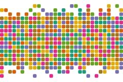 абстрактные квадраты предпосылки Предпосылка вектора стоковое изображение