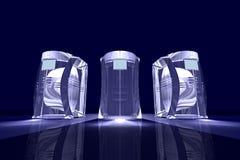 абстрактные компьютеры Стоковая Фотография