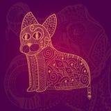 Абстрактные коты Стоковые Фотографии RF