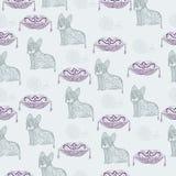Абстрактные коты Стоковые Изображения RF