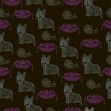 Абстрактные коты Стоковая Фотография RF