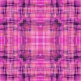 Абстрактные красивые линии на розовой предпосылке vector иллюстрация Стоковая Фотография RF