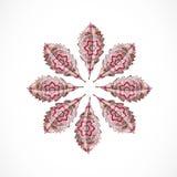 Абстрактные красочные листья Стоковое Изображение RF