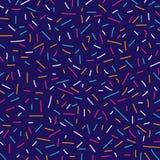 Абстрактные красочные линии стиль Мемфиса картины ретро иллюстрация вектора