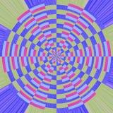 Абстрактные красочные образцы хлопка Стоковое Изображение RF