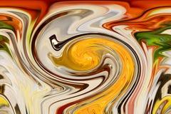 Абстрактные красочные предпосылка и дизайн картины Стоковое Изображение