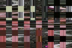 Абстрактные красочные предпосылка и дизайн картины Стоковая Фотография RF