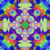 Абстрактные красочные текстура или предпосылка с картиной радуги сделали безшовный Стоковая Фотография