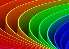 абстрактные кривые предпосылки Стоковое Изображение