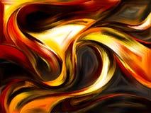 абстрактные кривые Стоковые Изображения