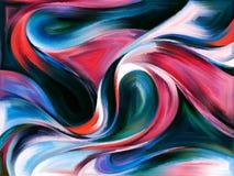абстрактные кривые Стоковое Изображение