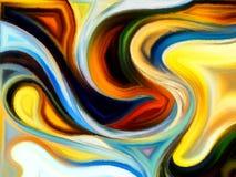 абстрактные кривые Стоковые Фотографии RF