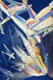абстрактные кристаллические изображения льда стоковая фотография rf