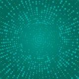 абстрактные круги Влияние полутонового изображения абстрактная поставленная точки предпосылка 3d представила место V иллюстрация штока