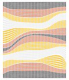 абстрактные круги красят состав Стоковые Изображения RF
