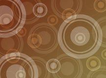 абстрактные круги предпосылки Стоковые Изображения RF