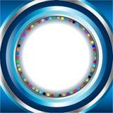 абстрактные круги предпосылки Стоковые Фотографии RF
