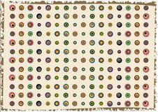 абстрактные круги предпосылки Стоковое Фото