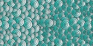 абстрактные круги сини предпосылки Стоковая Фотография RF