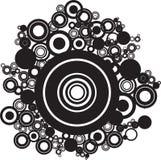 абстрактные круги Стоковые Фотографии RF