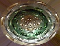 абстрактные круги Стоковая Фотография RF