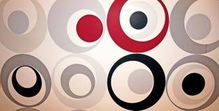 абстрактные круги Стоковое Изображение