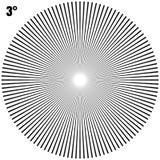 Абстрактные круговые геометрические лучи взрыва на белизне Вектор EPS 10 иллюстрация штока