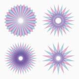 Абстрактные круговые геометрические формы бесплатная иллюстрация