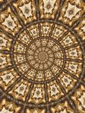 абстрактные круговые картины стоковые фотографии rf
