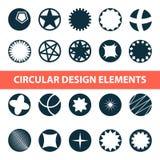 Абстрактные круговые элементы дизайна Круги для дизайна логотипа и больше бесплатная иллюстрация
