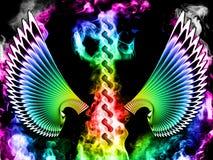 абстрактные крыла Стоковое Фото