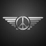 абстрактные крыла pacific металла предпосылки иллюстрация штока