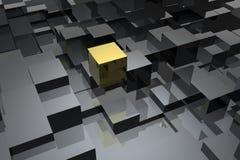 абстрактные кубики Стоковое Фото