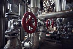 Абстрактные клапаны и трубки Стоковые Фотографии RF